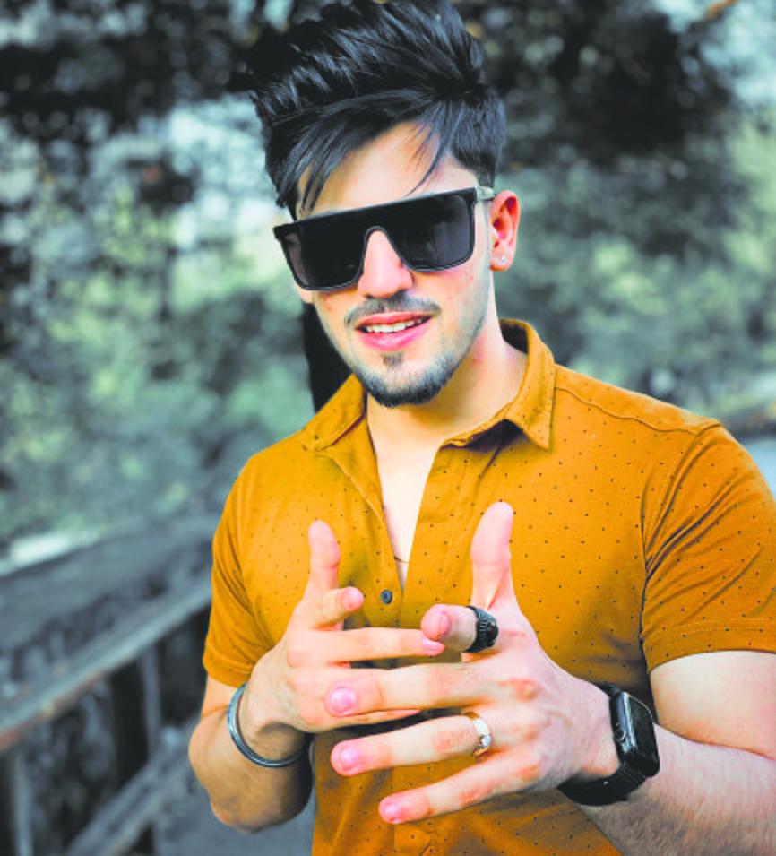 Shubham Sharma is in search of love!
