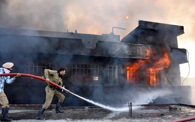 Majority of buildings lack fire safety arrangements in Ludhiana
