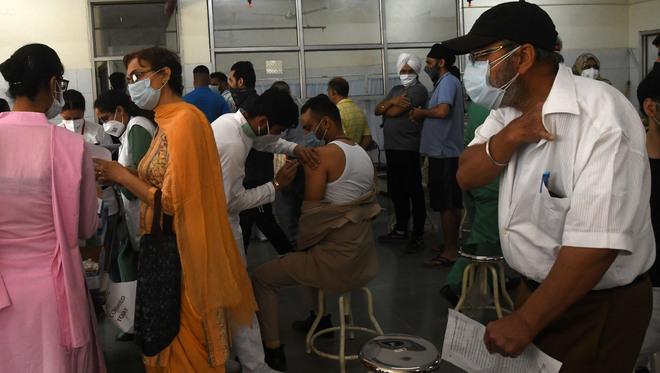 Mohali gets 20K Covishield doses