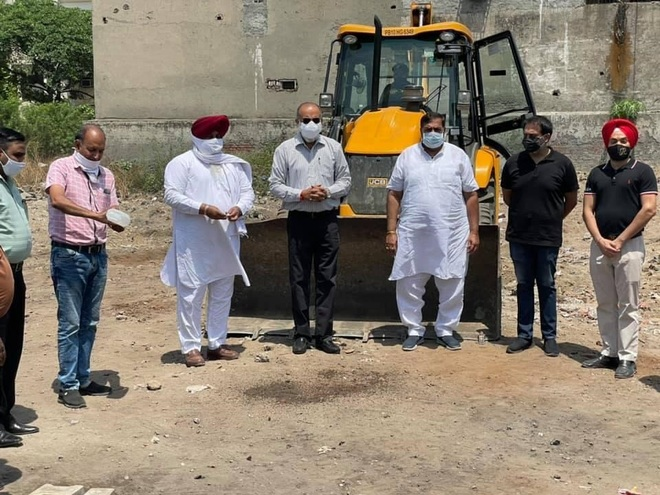 Construction work of school inaugurated