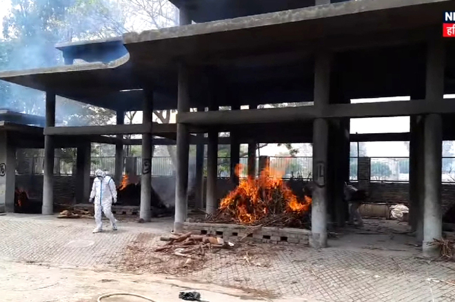 Cremation grounds run out of space in Rohtak district