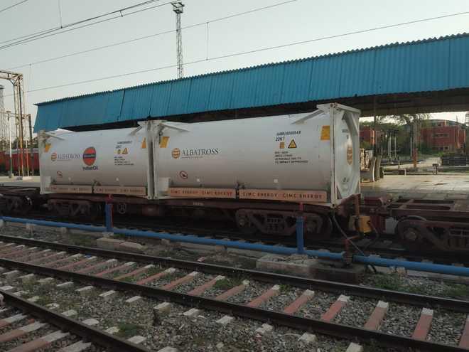 Jalandhar: Oxygen Express brings 40 MT O2