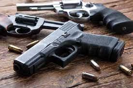 Police seize 136 pistols