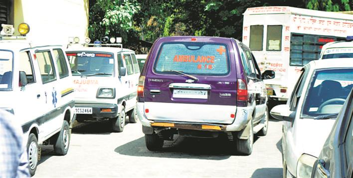 Private ambulances charge hefty amounts to ferry bodies