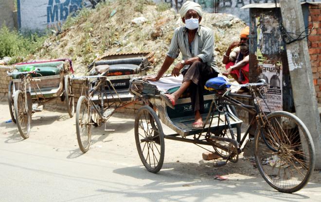 Rickshaw pullers, three-wheeler drivers struggling to make both ends meet