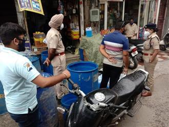 ADCP nabs man making spurious sanitiser