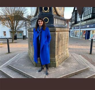 Pam Gosal 1st Indian woman to make it to Scotland House