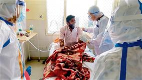DC inspects isolation ward at Govt Rajindra Hospital Patiala