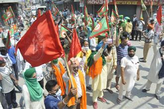 Tepid response to farmers' protest across Punjab