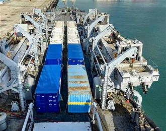 1st warship carrying 54 MT liquid oxygen reaches India