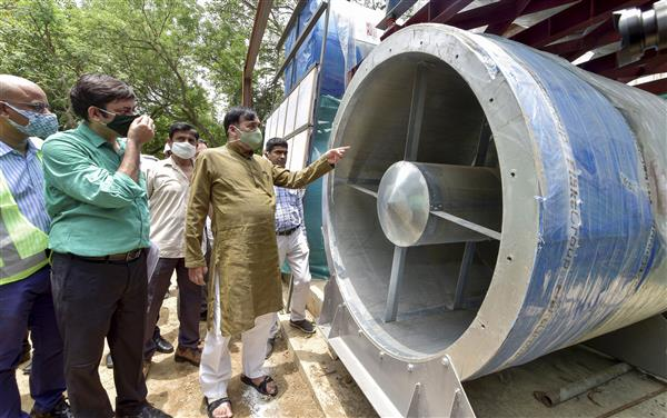 Delhi's first smog tower will be ready by August 15: Environment Minister Gopal Rai