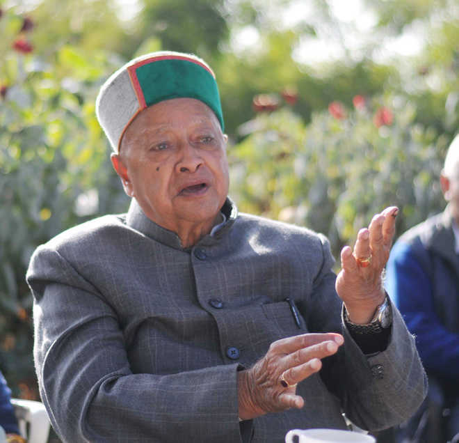 Virbhadra Singh tests Covid positive second time in 2 months