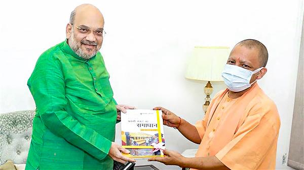 Adityanath meets Amit Shah in Delhi amid reports of dissent and speculation of Cabinet rejig