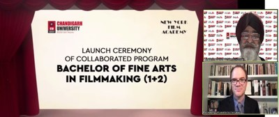 Chandigarh University inks MoU with New York Film Academy for UG course