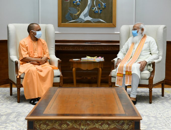 Yogi meets PM Modi amid reports of dissent, speculation of Cabinet reshuffle