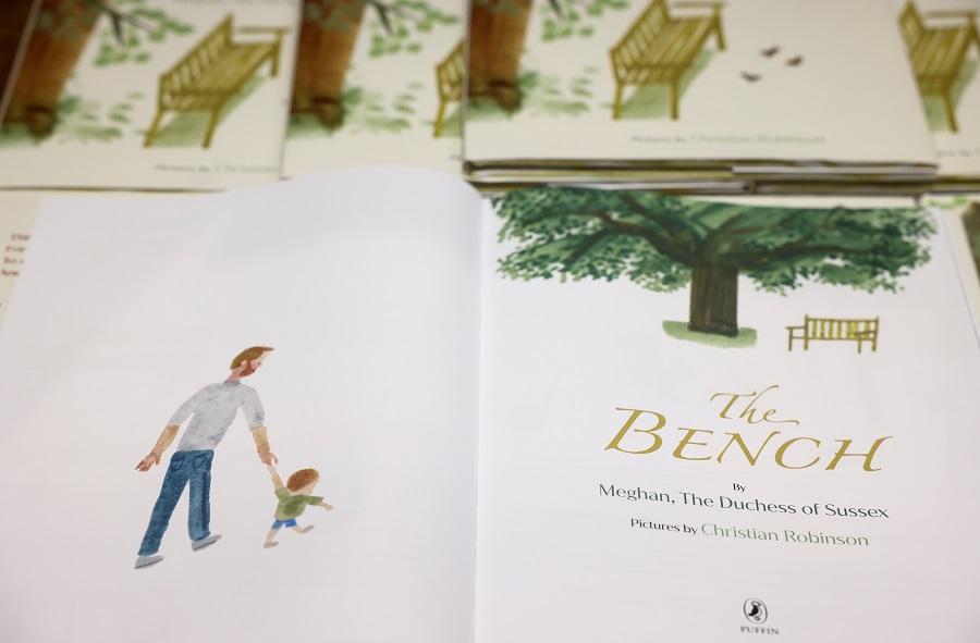 Duchess Meghan releases debut children's book 'The Bench'