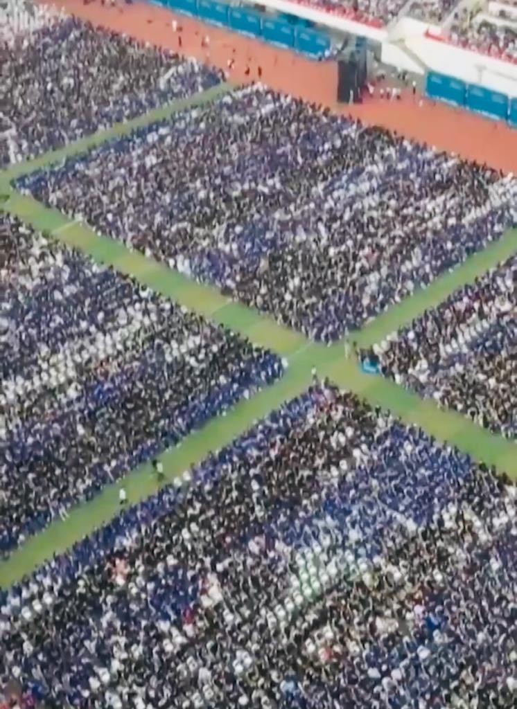 Video: China's Wuhan holds graduation ceremony for 11,000 students without masks, social-distancing