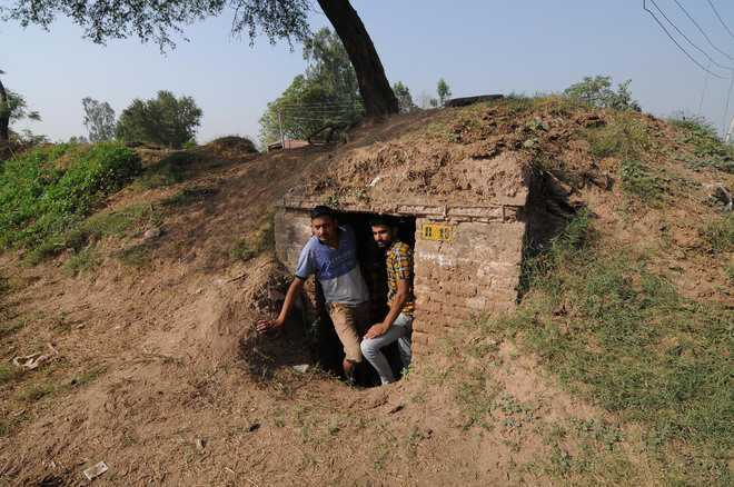 7,923 bunkers constructed in Jammu province