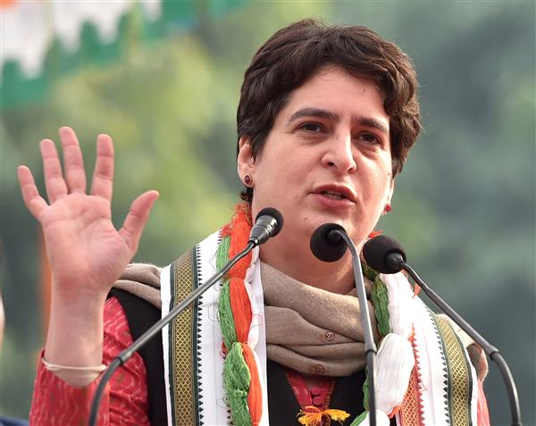 Priyanka accuses govt of 'suppressing' Covid data, prioritising propaganda over saving lives