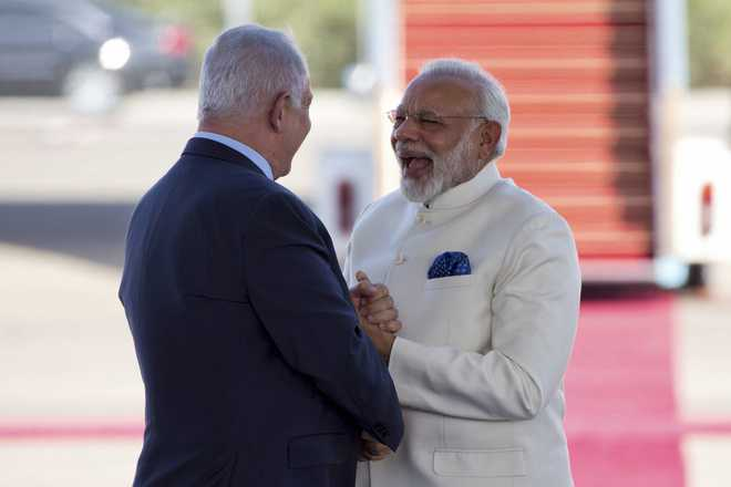 PM Modi doesn't forget friend Netanyahu