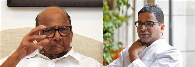 Pawar meets poll strategist Prashant Kishor, calls meeting of Opposition leaders on Tuesday