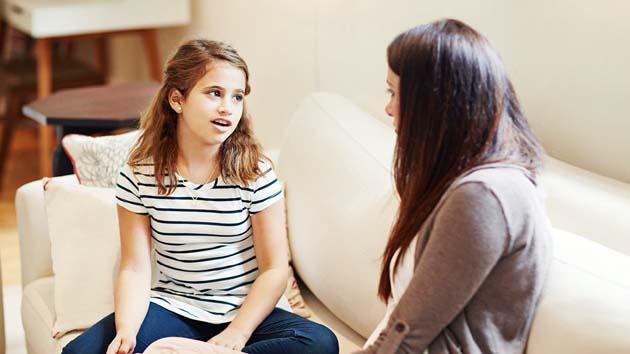 Attentive listening helps teens open up