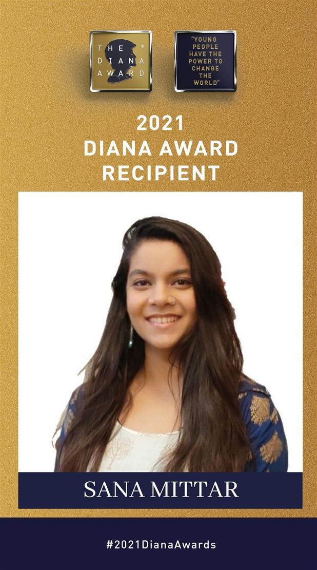 19-year-old social entrepreneur from Delhi bags Diana award