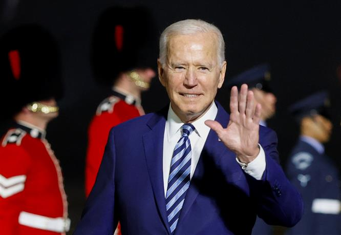 Biden warns Russia it faces 'robust' response for harmful actions as he begins European visit