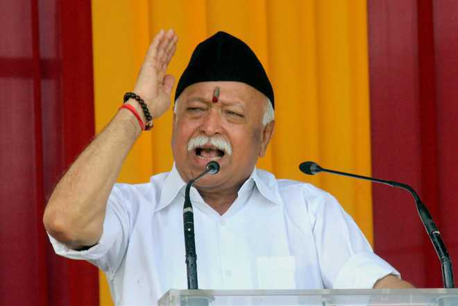 Twitter removes blue verification tick from Bhagwat, other RSS functionaries' accounts; restores later after getting panned