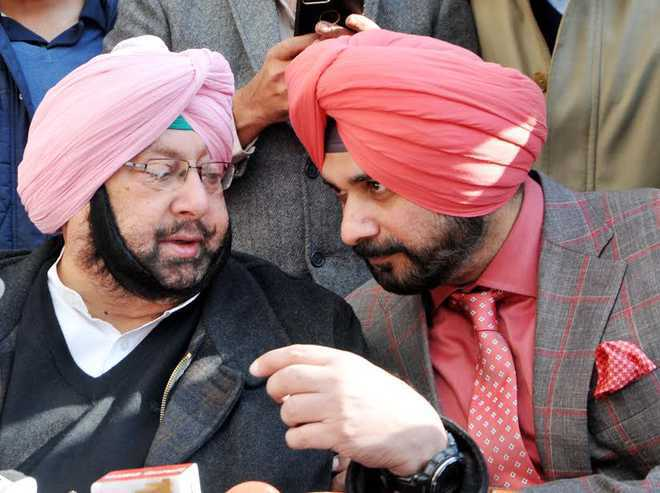 'Course-correct', AICC panel to Punjab CM; wants Navjot Sidhu 'suitably accommodated'