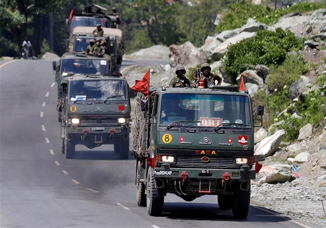 China's amassing of troops, attempt to alter status quo responsible for eastern Ladakh row: India
