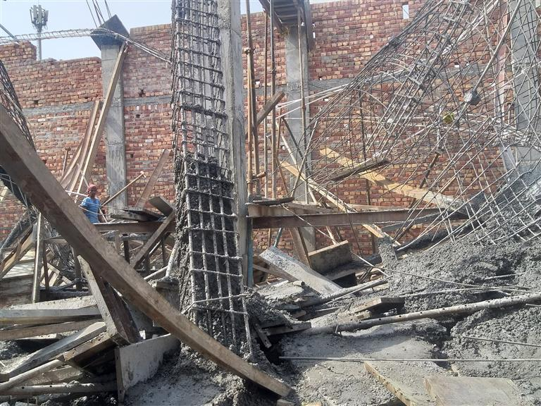Illegal under-construction building collapses, 5 labourers buried under debris in Patiala