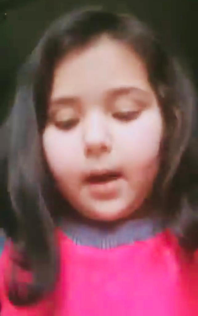 I want to go to school, miss my friends: 6-year-old Kashmiri girl