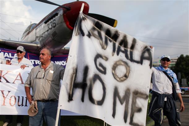 US to unveil human trafficking steps; Kamala Harris visits Guatemala