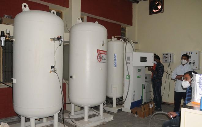Nine oxygen plants arrive from Europe