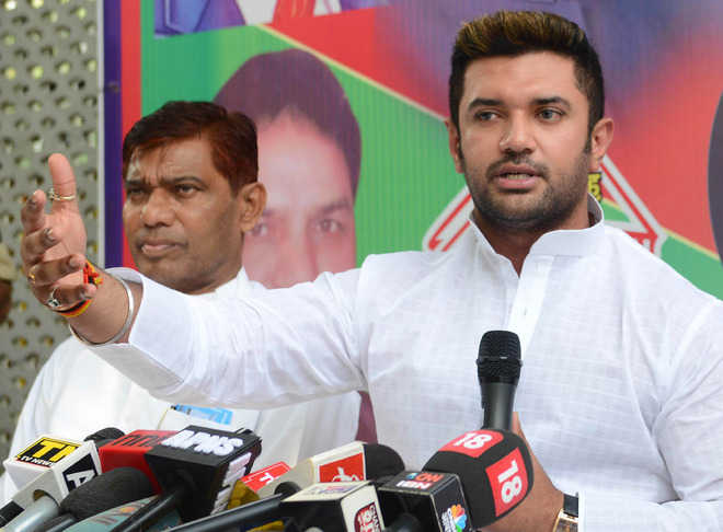 LJP fight: Chirag Paswan expels five rebel MPs; Paras-led faction removes him as party president