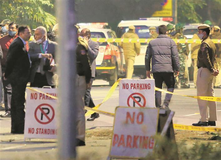 Blast near Israel Embassy: Delhi Police detain four youths from Kargil
