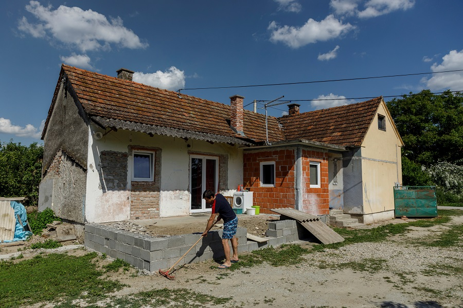 A penny for a house: Shrinking Croatian town tries to lure in new residents