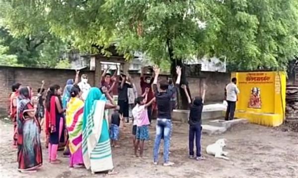 Corona Mata' temple demolished in Uttar Pradesh's Pratapgarh