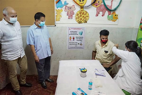 Delhi receives more doses, vaccination to start again