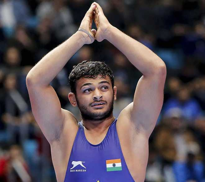 Deepak Punia pulls out of Poland Open due to elbow injury