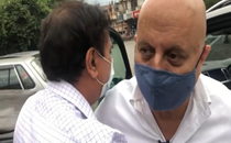 Anupam Kher meets friend after '50 long years' on Shimla trip with mom Dulari; see videos