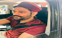 Dhoni, wife given warm send-off as he leaves picturesque Ratnari village in Shimla, see pictures