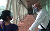 Anupam Kher, mother Dulari land in Chandigarh; visit Shimla home after 2 years; see videos