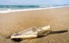 Message in a bottle travels across the Atlantic Ocean