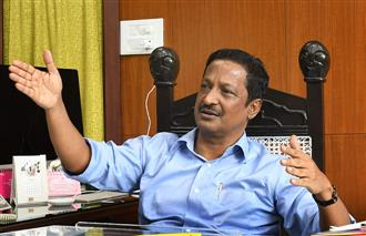 Chandigarh adviser Manoj Parida transferred, to head central body