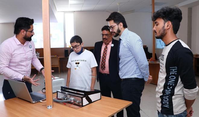 Class VIII Jalandhar student does his bit to ease vehicle ventilation, develops a device