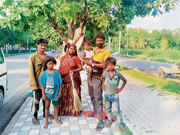 Life goes on for them, 'blissfully' untouched by Covid