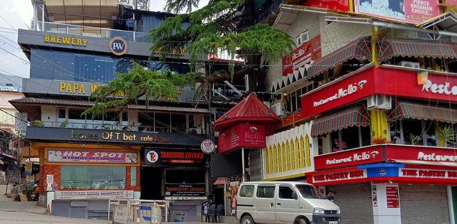 Curbs in force, most eating joints closed in Dharamsala