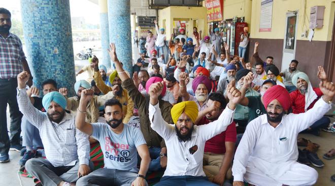 Punjab Roadways, PRTC staff go on 3-day strike throughout the state